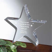Colorful Crystal Lotus/Glass Star Shape for Holiday and Wedding favors,Crystal Lotus Paperweight