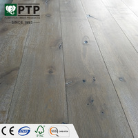 Maritime white oak wood natural color changing engineered flooring CE/CARB/FSC