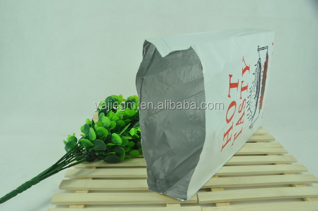 Food Grade Aluminum Foil coated Sandwich Bags