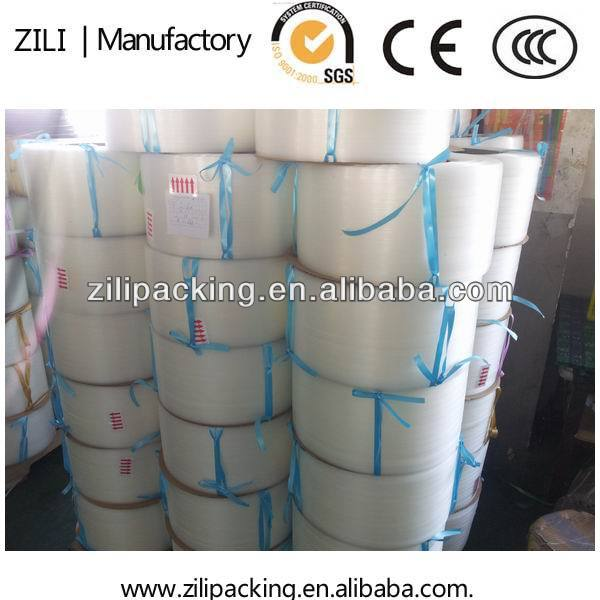 Alibaba PP belt packing strip plastic strip roll 8kgs made in China supplier