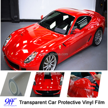 Clear Car Paint Protective Foil For Car Body Wrap / Transparent Car Exterior Body Paint Protection Film
