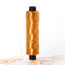 Color changing rayon embroidery thread