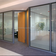 High wall office cubicle design/ full height office partition/aluminium glass office partition