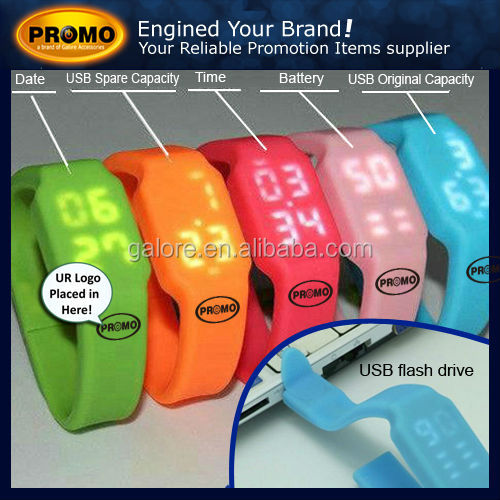 usb silicon watch usb silicon watch 16gb usb watch