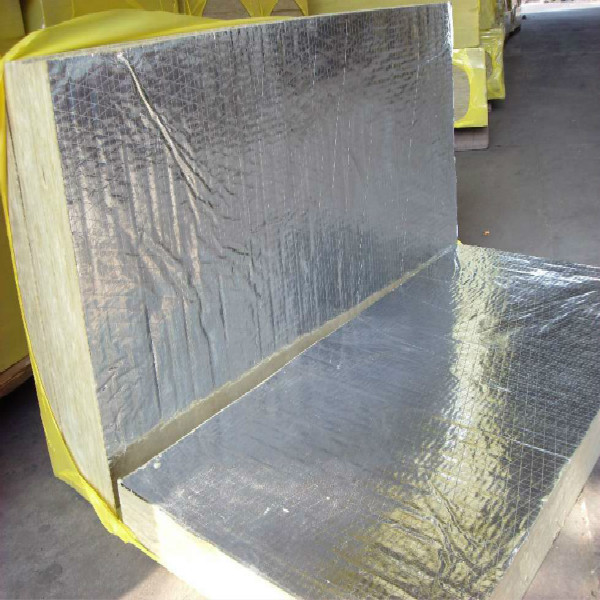 Rock wool board with foil on one side rock wool for Rockwool insulation board