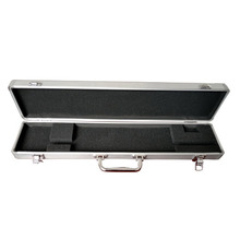 Silver Aluminum Dot military Gun Case Hard for Scoped Rifle/carrying case for Pistol Safety Storage