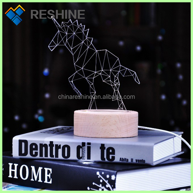 Best gift unicorn night light with Auspicious meanings