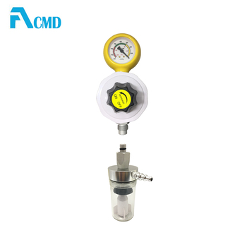 Patient Use French Standard Vacuum Regulator With Jar