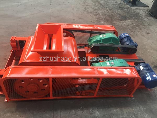 Mini roller crusher machine for coal with small capacity