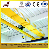 drawing customized overhead crane price double hook used in workshop