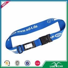 Buy high quality custom luggage name shoulder strap