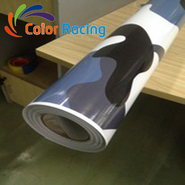 Top selling special car wrap camouflage 3m camo vinyl with air channel