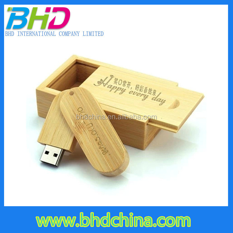 Promotional gift 2tb usb flash drive 3.0 64gb 32bg free logo wood flash drive usb