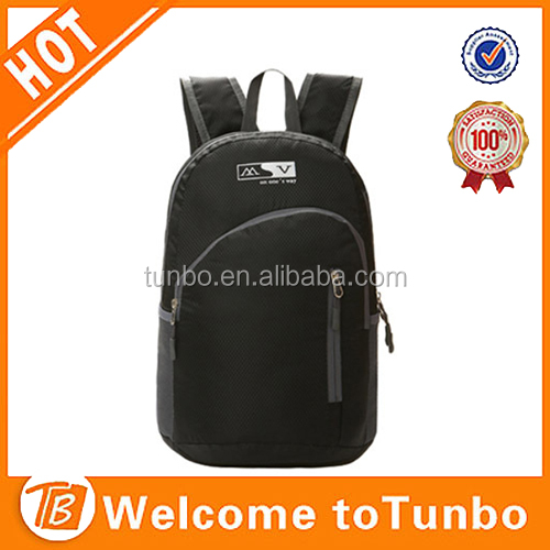 On sale custom Waterproof nylon foldable sports backpack bag