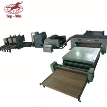 wadding production line , single siling single doff cotton combing machine , Form Impregnating Nonwoven production line