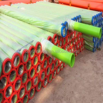 trucks and trailers parts dn125 concrete pump double wall pipe
