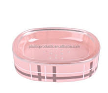 promotion pink plastic hotel soap dish