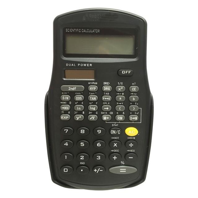 56 Functions Scientific Calculator for School,Dual