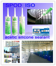 glass window Acetic Silicone Sealant, GP silicone sealant