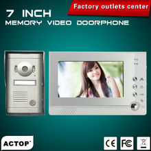 7 inchTFT best video telephone intercom system VDP313+CAM208