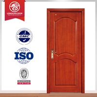 newly wooden door design water proof doors, wpc wood door , single swing door