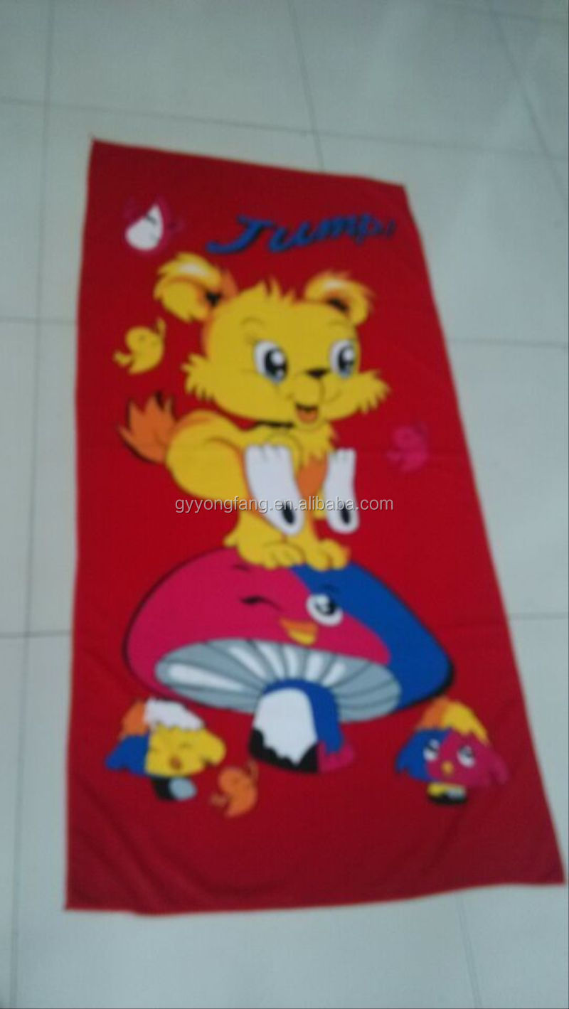 printed beach towel microfiber, fruit microfiber printed beach towels, reactive printed beach towel bag