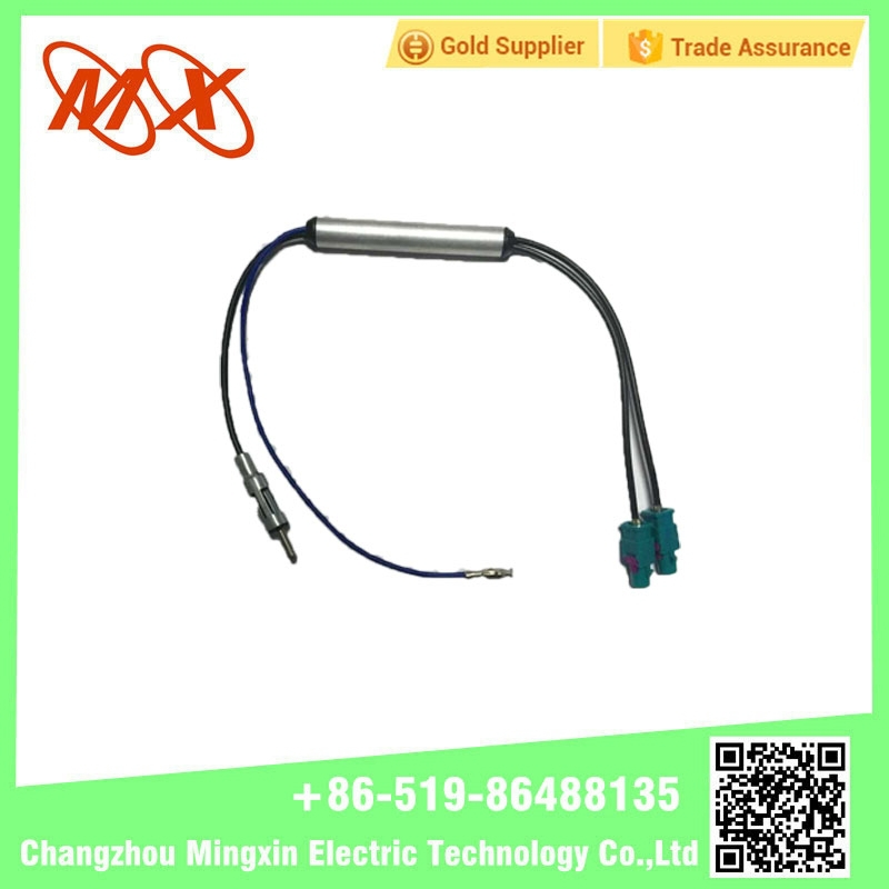 External Universal Car/TV/Radio Antenna Connector with Extension Cable