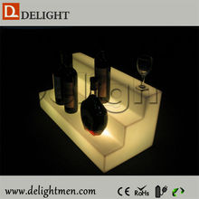 Top venta light up rgb control remoto recargable hogar decoración <span class=keywords><strong>estante</strong></span> <span class=keywords><strong>del</strong></span> vino <span class=keywords><strong>del</strong></span> led