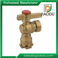 Alibaba china unique Brass Ball Valve for Water Meter
