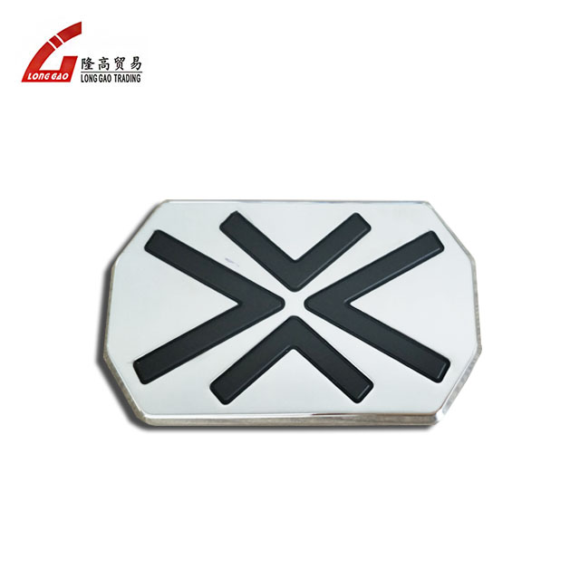 Abs Plastic Chrome Car Badge Stickers Customized 3d Logo Letter 3m