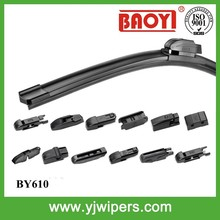 factory frameless universal wiper car with 12 adaptors
