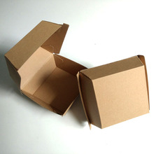 Paper Hamburger Box/Takeaway Container/fast food packaging box