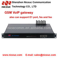 gsm VOIP gateway 8 port 64 sims for international calls voip products