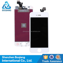 made in China white balck touch screen digitizer panel replacement screen Lcd display assembly for iphone 5 5G 5S 5C