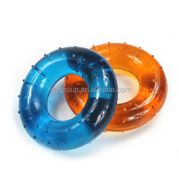 Fitness Training Exercise Round Rubber Massage Hand Grip Ring