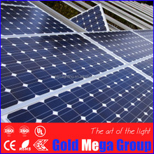 The photovoltaic 30-300 watt solar panel with high efficiency/ solar panel for home or factory /sunpower cell flexible