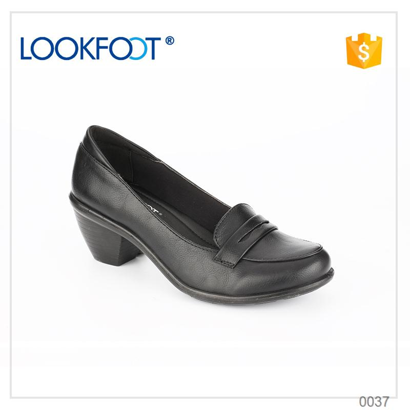 Massage bottom flat shining brand name wholesale latest design leather shoes made in China