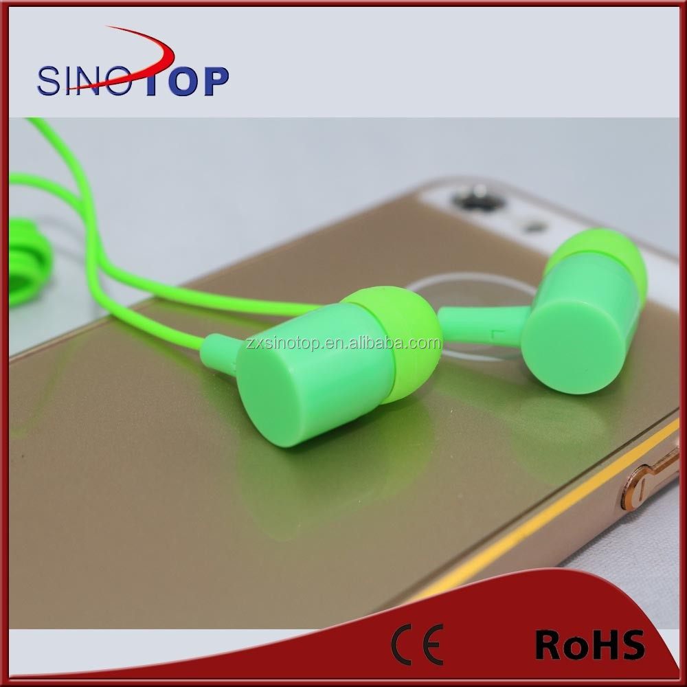 2015 hot sale! hot sale! 3.5mm headphone jack mp3 earphone for shure