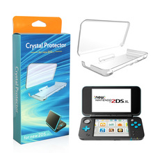 Plastic Clear hard cover for nintendo 2DSXL 2DSLL , 2DSLL Case Cover