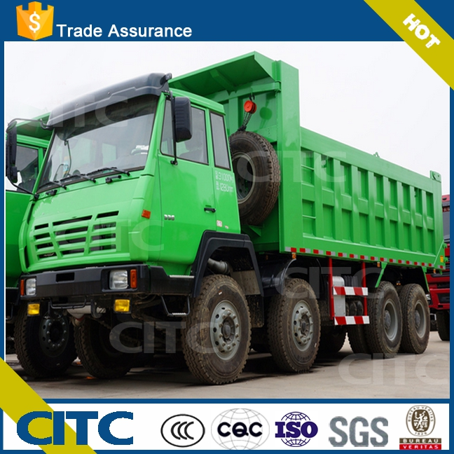 HOWO used heavy duty trucks , sand transport truck for sale