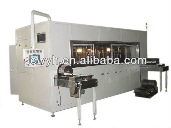 Industrial Rotary Ultrasonic Washing Machine for hardware,electronics