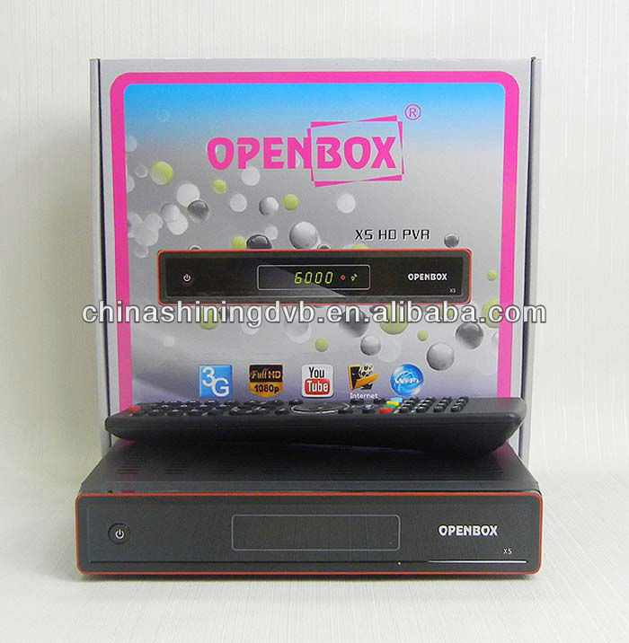 New receiver Openbox X5 HD support 3G and IPTV in stock now!!