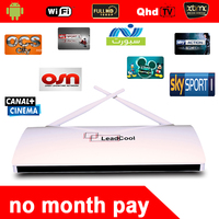 Factory TV Android Box Leadcool + IPTV Account Channel 6 Months Croatia SmartTV Watching 680+ Channels Wholesale