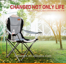 Tianye folding metal chairs Padded Folding Beach Chair/Armchair with Cup Holder