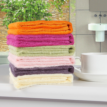 Colorful High Quality Custom Made Private Label Square Small Face Towel