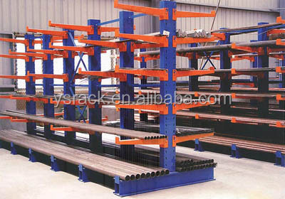Suitable for long goods Warehouse Cantilever Racking System,Customized