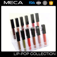 empty led light lipgloss No Logo 18hour Matte Liquid Lipstick Lip gloss