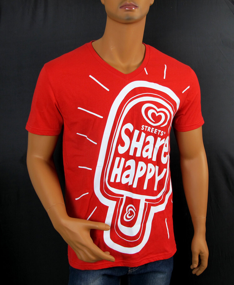 Custom Cheap Red Promotional Printing T-Shirt