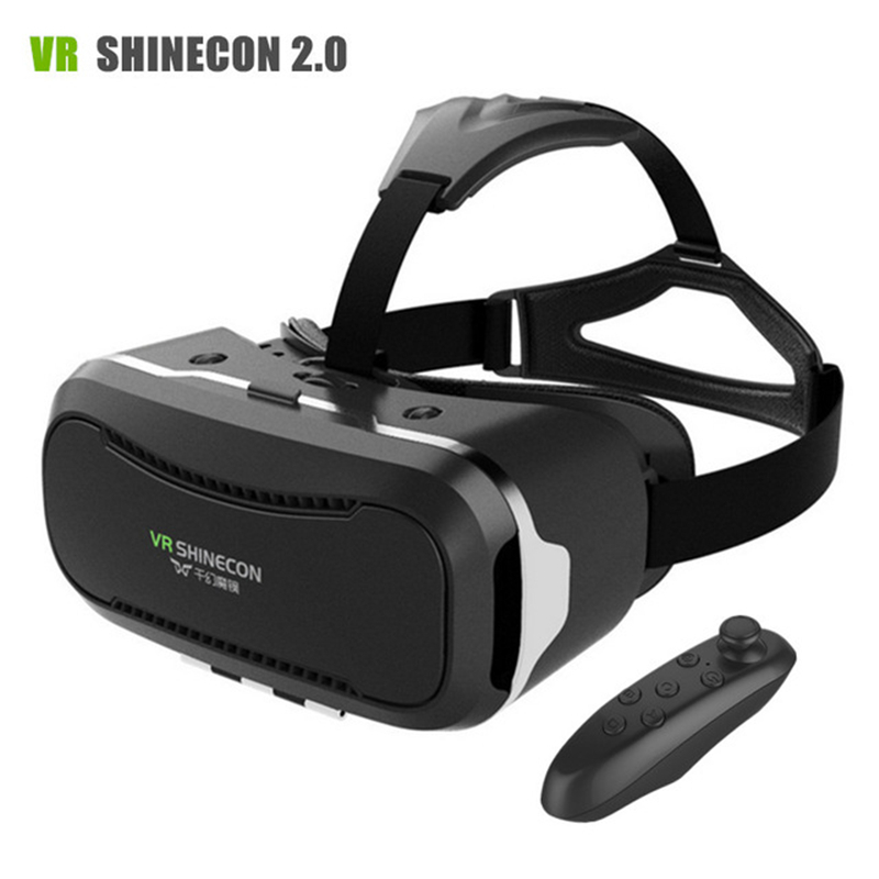 Virtual reality HD Optical Resin Lens best price vr shinecon 3d glasses