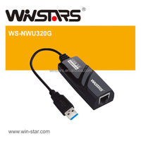 USB 3.0 Gigabit Ethernet Adapter,extension Gigabit networking, Plug-and-play installation